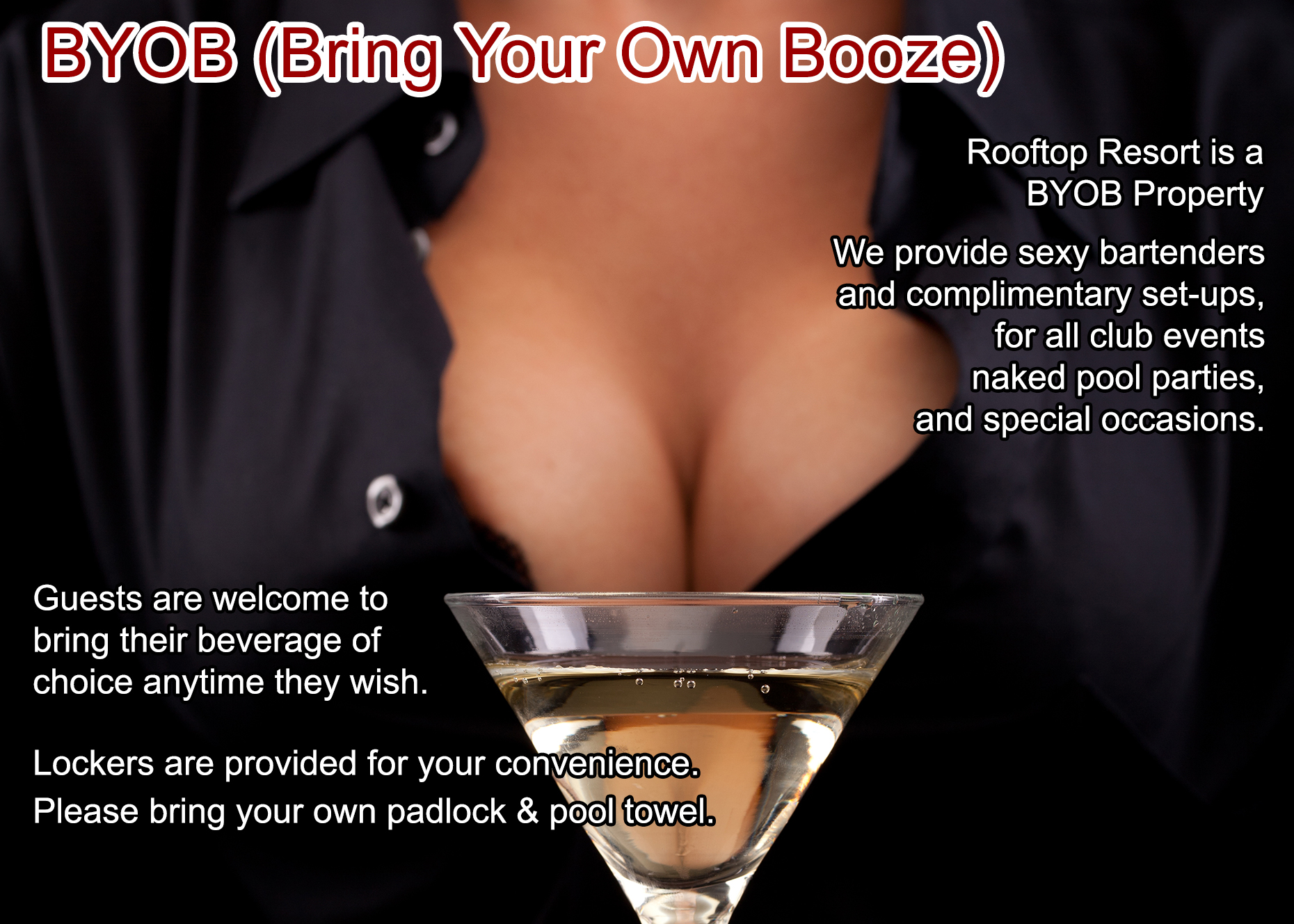 Bring Your Own Booze