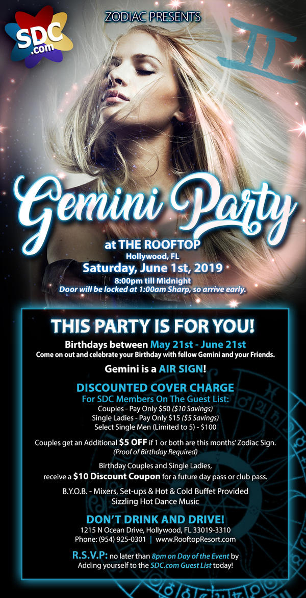 SDC Gemini Party