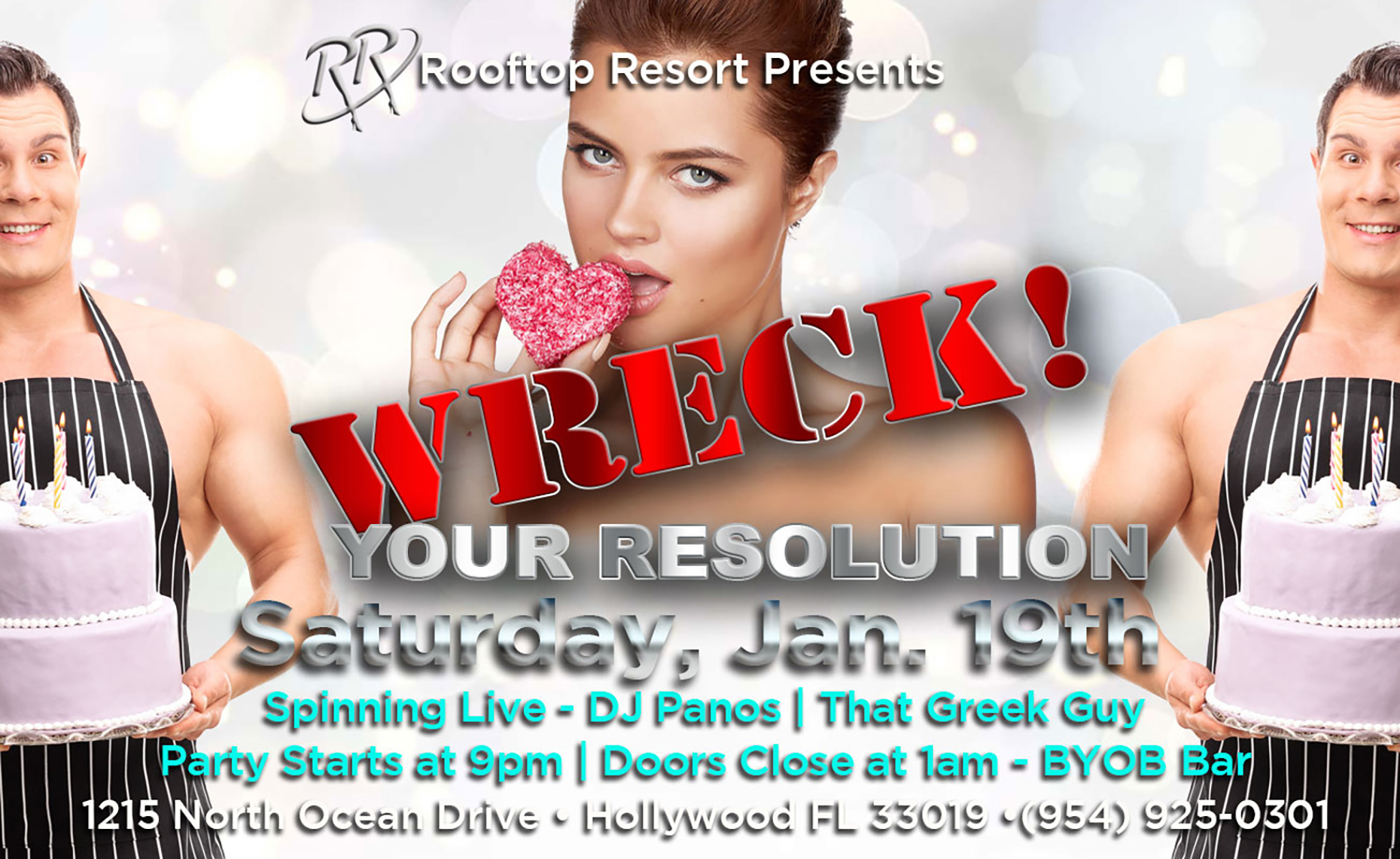 Wreck Your Resolution Party